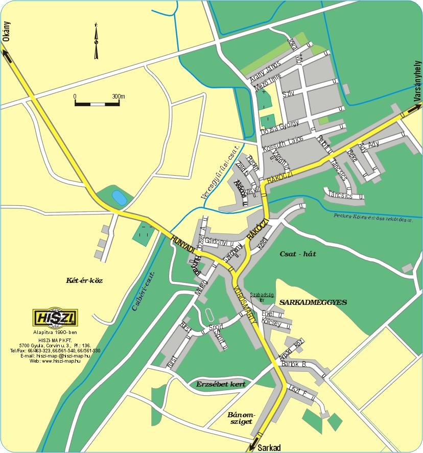 sarkad térkép .sarkadkeresztur.hu   Településünkről    Térkép sarkad térkép